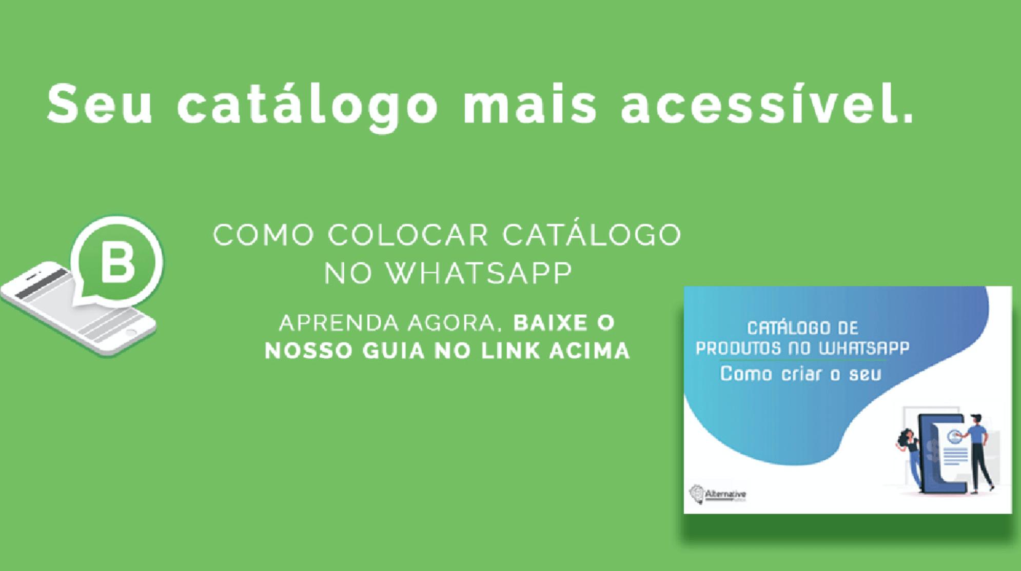 Imagem de destaque do artigo sobre catálogo de produtos no Whatsapp - Alternative Agencia